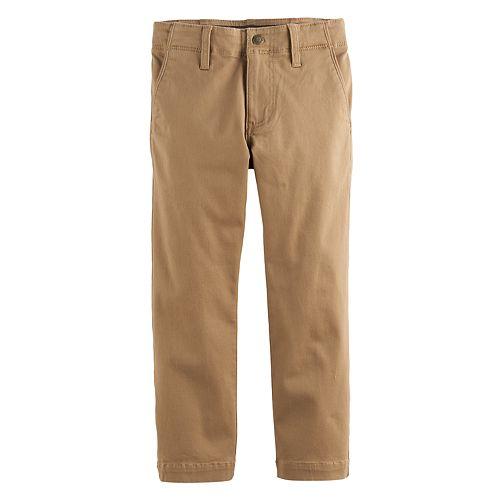 c99535d2 Boys 4-7x Lee Dungarees Slim Fit Original Khaki Pants