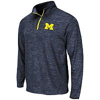 Men's Campus Heritage Michigan Wolverines Action Pass Quarter-Zip Pullover