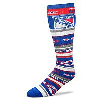 Adult For Bare Feet New York Rangers Tailgater Crew Socks