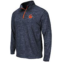 Men's Campus Heritage Syracuse Orange Action Pass Quarter-Zip Pullover