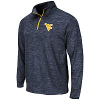 Men's Campus Heritage West Virginia Mountaineers Action Pass Quarter-Zip Pullover