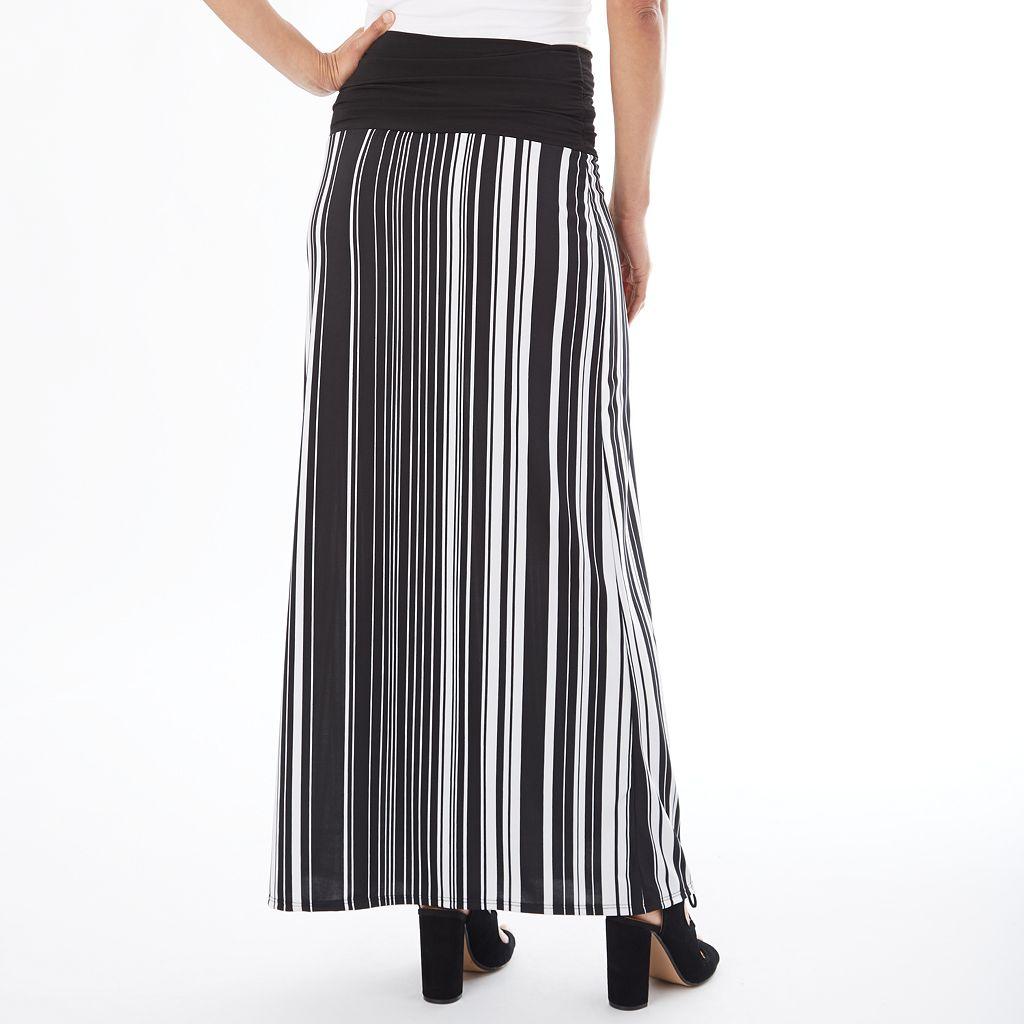 Women's Apt. 9® Print Maxi Skirt