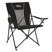 Adult Logo Brand Baltimore Ravens Game Time Portable Folding Chair