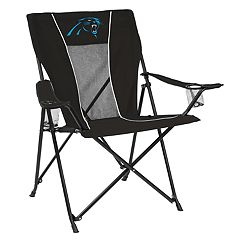 Adult Logo Brand Carolina Panthers Game Time Portable Folding Chair