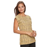 Women's Dana Buchman Pleated Top