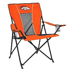Adult Logo Brand Denver Broncos Game Time Portable Folding Chair