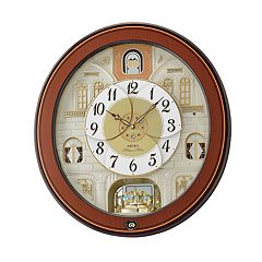Seiko Melodies In Motion Wall Clock - QXM368BRH