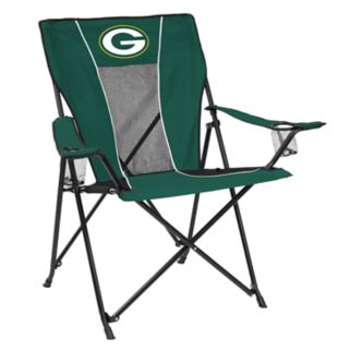 Adult Logo Brand Green Bay Packers Game Time Portable Folding Chair