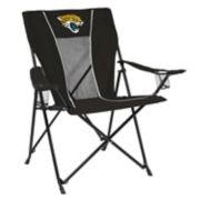 Adult Logo Brand Jacksonville Jaguars Game Time Portable Folding Chair