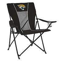 Adult Logo Brand Jacksonville Jaguars Game Time Portable Folding Chair