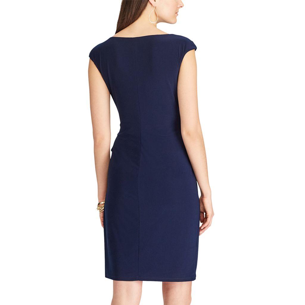 Women's Chaps Ruffle Sheath Dress