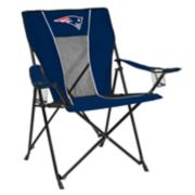 Adult Logo Brand New England Patriots Game Time Portable Folding Chair