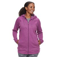 Plus Size Tek Gear® Fleece Zip-Up Hoodie