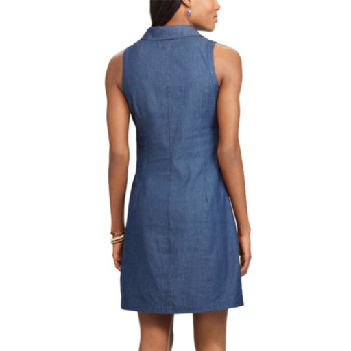 Women's Chaps Jean Shirtdress
