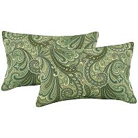 Metje 2-pack Indoor Outdoor Reversible Oblong Throw Pillow Set