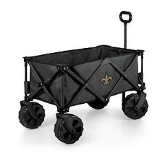 Picnic Time New Orleans Saints All-Terrain Adventure Wagon