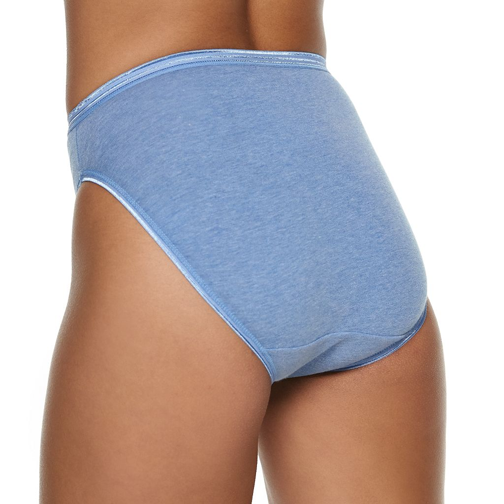 Fruit of the Loom Ultra Soft 5-pack + 1 Bonus Hi-Cut Panties 6DUSKHC