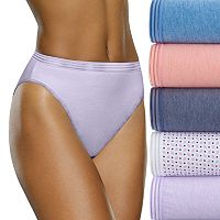 Fruit of the Loom 6-pack Ultra Soft Hi-Cut Panties 6DUSKHC