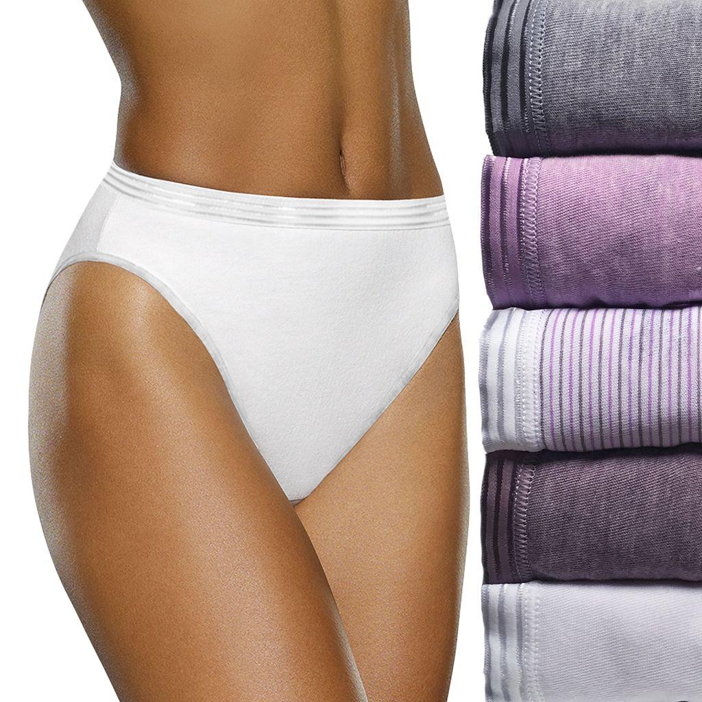 Fruit of the Loom 6-pack Ultra Soft Hi-Cut Panties 6DUSKHC