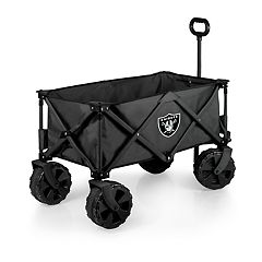Picnic Time Oakland Raiders All-Terrain Adventure Wagon