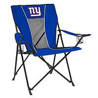 Adult Logo Brand New York Giants Game Time Portable Folding Chair