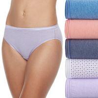 Fruit of the Loom 6-pack Ultra Soft Bikini Panties 6DUSKBK