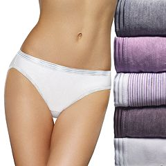 Fruit of the Loom 6-pack Ultra Soft Bikini Panties 6DUSKBK