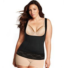 Plus Size Maidenform Shapewear Wear Your Own Bra Lace Torsette DM1026