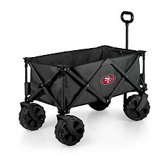 Picnic Time San Francisco 49ers All-Terrain Adventure Wagon