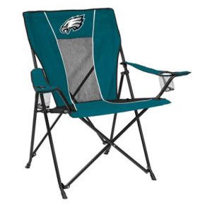 Adult Logo Brand Philadelphia Eagles Game Time Portable Folding Chair