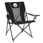 Adult Logo Brand Pittsburgh Steelers Game Time Portable Folding Chair
