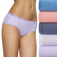 Fruit of the Loom 6-pack Ultra Soft Hipster Panties 6DUSKHP