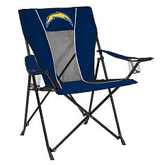 Adult Logo Brand Los AngelesChargers Game Time Portable Folding Chair