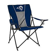 Adult Logo Brand Los Angeles Rams Game Time Portable Folding Chair