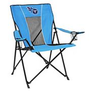 Adult Logo Brand Tennessee Titans Game Time Portable Folding Chair