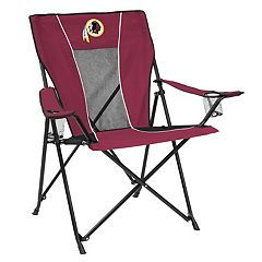 Adult Logo Brand Washington Redskins Game Time Portable Folding Chair
