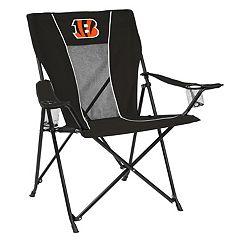 Adult Logo Brand Cincinnati Bengals Game Time Portable Folding Chair