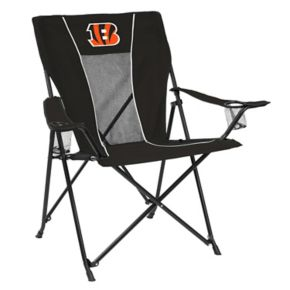 Adult Logo Brand Cincinnati Bengals Game Time Portable Folding Chair