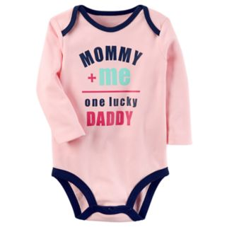 """Baby Girl Carter's """"Mommy + Me"""" Graphic Bodysuit"""