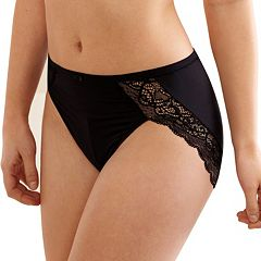 Bali Lace Desire Microfiber Hi-Cut Panty DFLD62