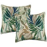 Metje 2-pack Indoor Outdoor Reversible Throw Pillow Set