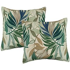 Metje 2-pack Indoor Outdoor Reversible Throw Pillow Set