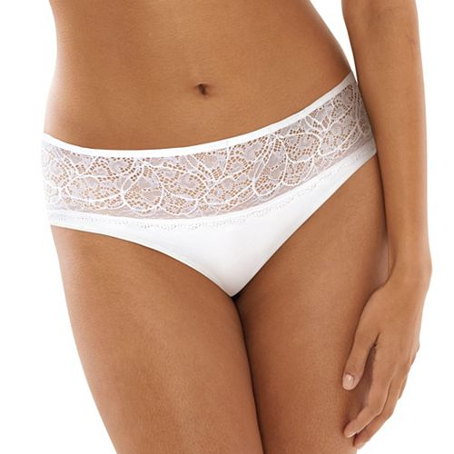 """MSRP: $12.50 Style: DFCD63 Size: M//6 BALI /""""Lace Desire/"""" Hipster"""