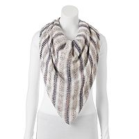 SONOMA Goods for Life™ Popcorn & Eyelash Pleated Blanket Square Scarf