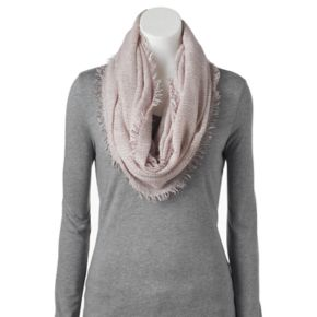 SONOMA Goods for Life™ Woven Frayed Edge Infinity Scarf