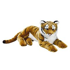National Geographic Tiger Plush by Lelly