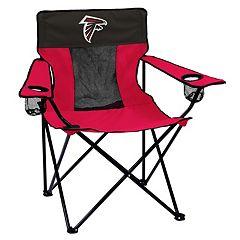 Adult Logo Brand Atlanta Falcons Elite Portable Folding Chair