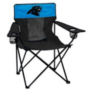 Adult Logo Brand Carolina Panthers Elite Portable Folding Chair