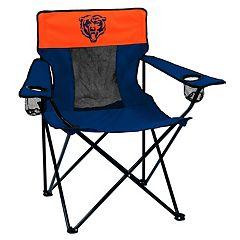 Adult Logo Brand Chicago Bears Elite Portable Folding Chair