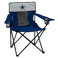 Adult Logo Brand Dallas Cowboys Elite Portable Folding Chair